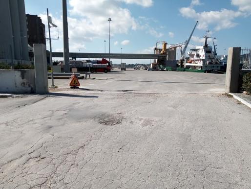Εργα πού δεν ολοκληρώθηκαν  στο λιμάνι της Σούδας.