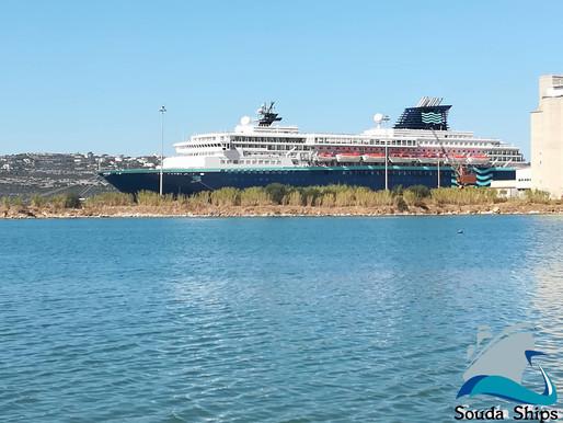 Το Horizon στο λιμάνι της Σούδας