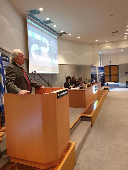 Ο Πρόεδρος της ΑΝΕΚ Γιώργος Κατσανεβάκης, καλωσόρισε τους συμμετέχοντες, υπογραμμίζοντας ότι η εταιρεία θα στηρίζει πάντα, με όσα μέσα διαθέτει, κάθε πρωτοβουλία που πραγματοποιείται προς όφελος των μελλοντικών γενεών