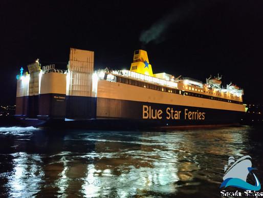 Επιστρέφει στο λιμάνι του Πειραιά το BLUE GALAXY