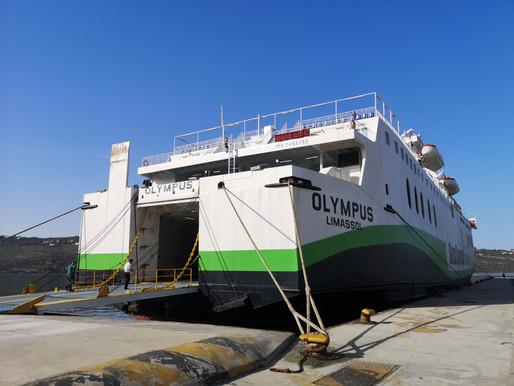 OLYMPUS στο λιμάνι της Σούδας