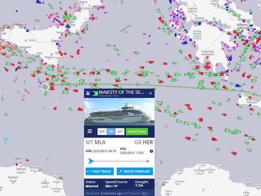 Παροπλισμός του MAJESTY OF THE SEAS