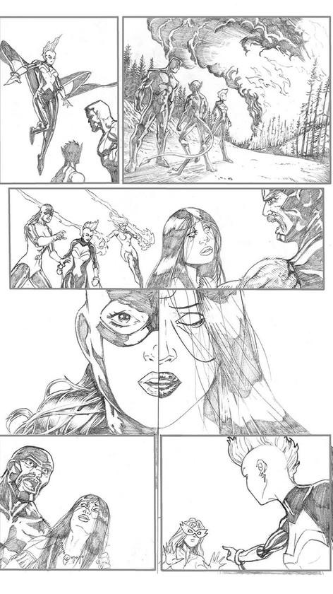 X-Men Sample Page 6