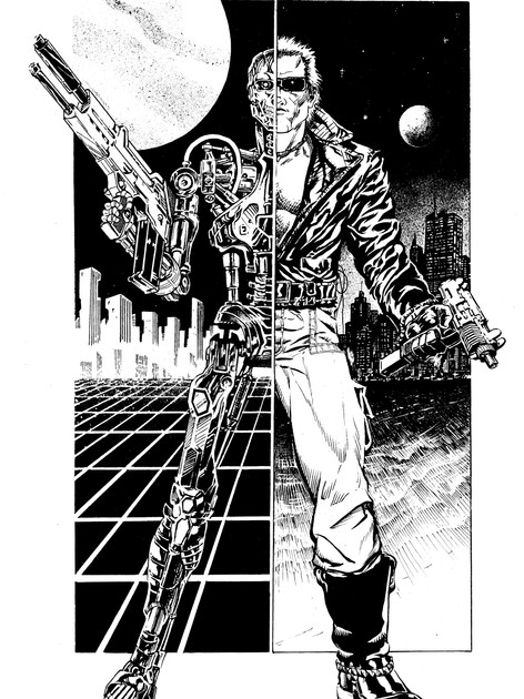Terminator Inked Cover