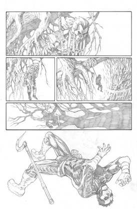 Shadowman Sample Page 2
