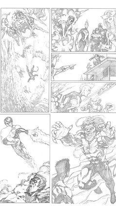 X-Men Sample Page 3