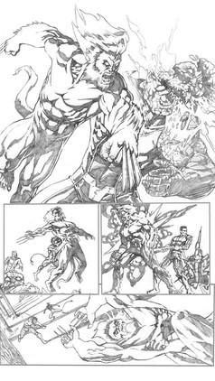 X-Men Sample Page 5