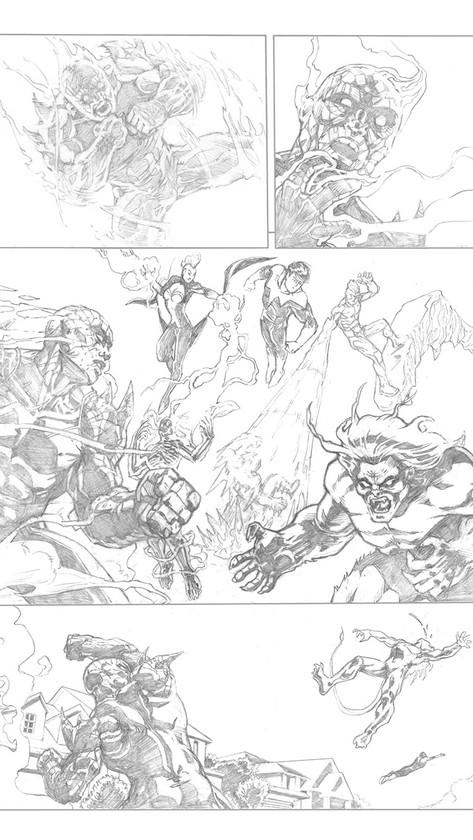 X-Men Sample Page 1