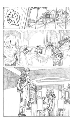 Avengers Sample Page 1