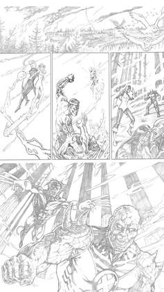 X-Men Sample Page 4