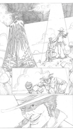 Batman Sample Page 1