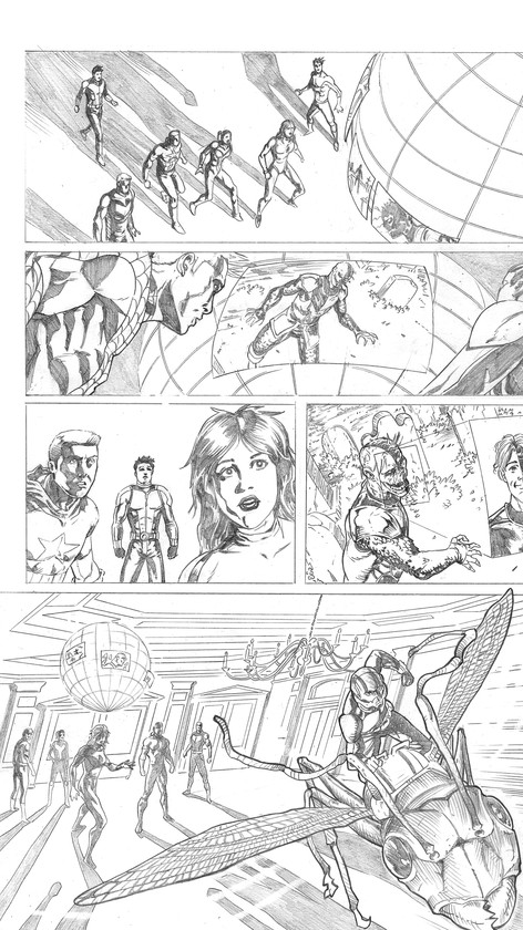 Avengers Sample Page 3