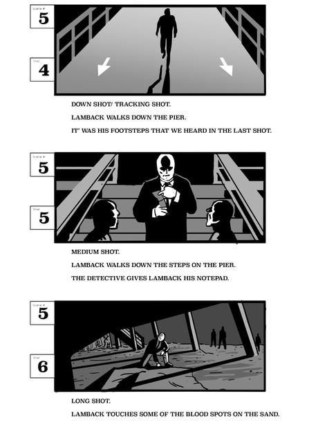 Storyboards for Original Short Film