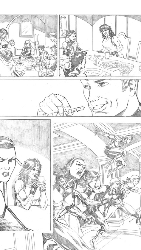 Avengers Sample Page 2