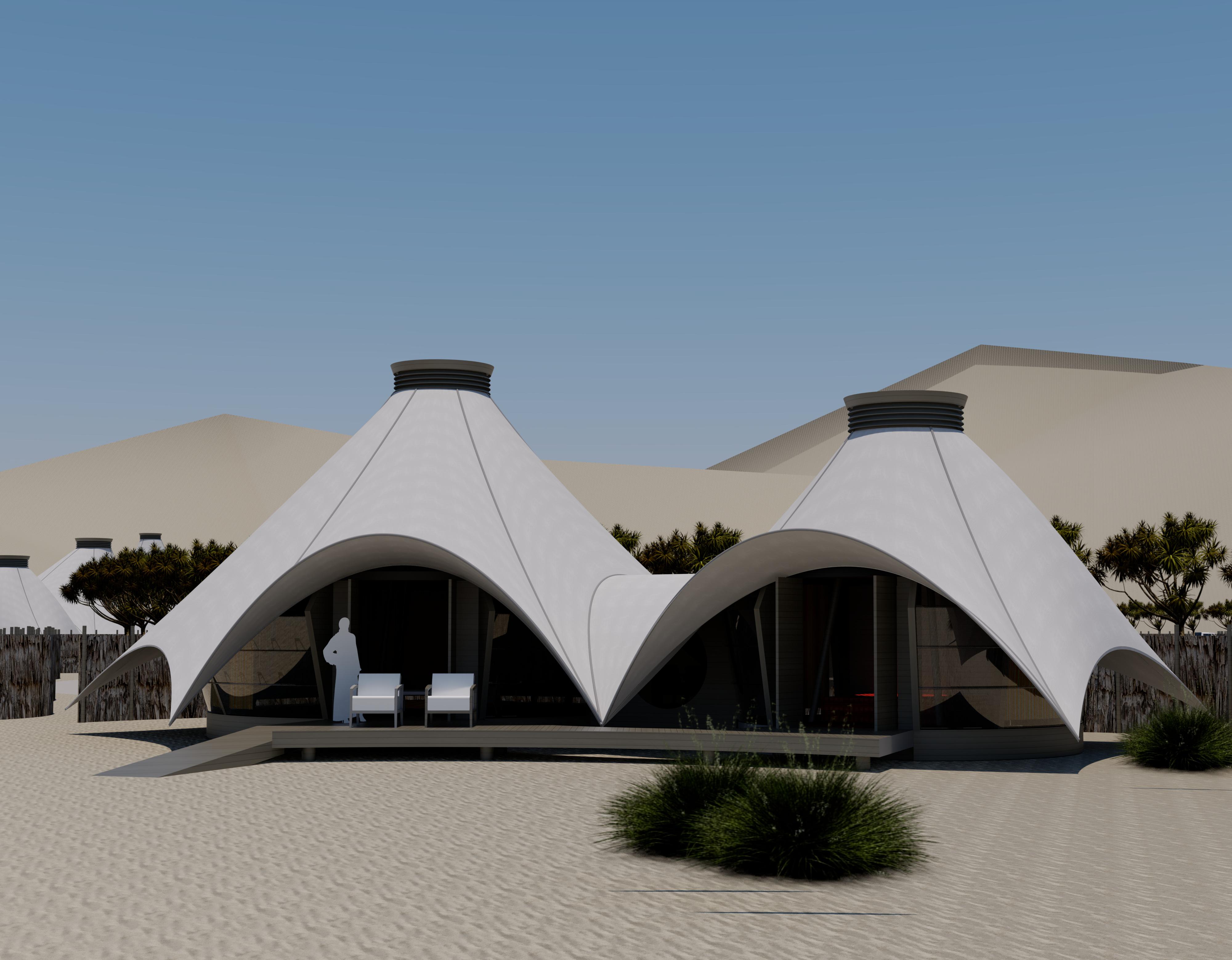 Desert Eco Lodge architects north