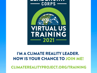 Become a Climate Reality Leader!