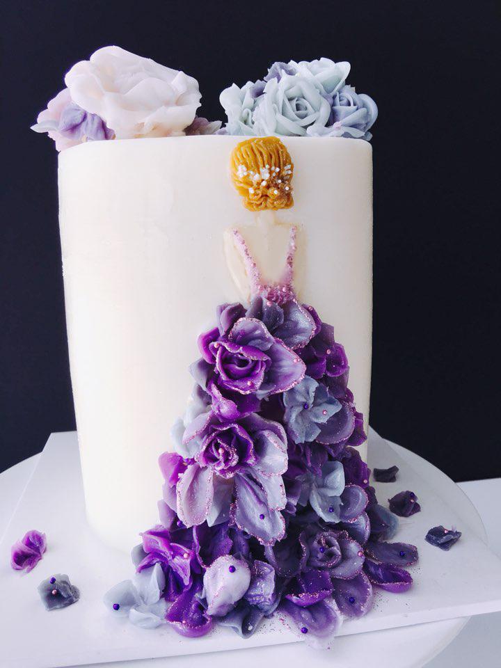 Wedding Dress purple2