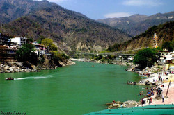 Ganges at the Foothills of Himalayas