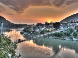 Rishikesh at Sunset