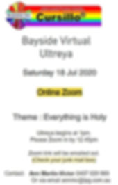 Bayside Ultreya 2020 notice.JPG