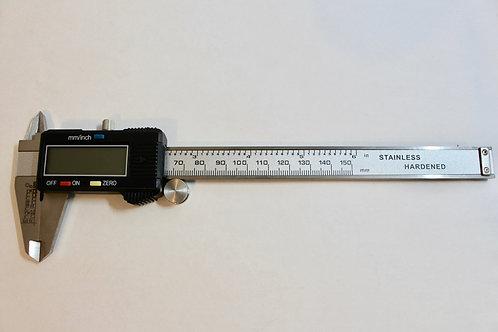 """Engineering First Principles Stainless Steel Digital 6""""/150mm Vernier Calipers"""