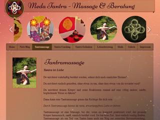 Tantramassage - neue Homepage