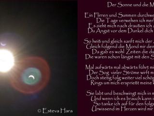 Mein neuestes Gedicht zur Sonnemondbegegnung
