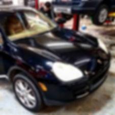 2004 Porsche Cayenne VR6 Black HVAC AC Repair Diagnostics Service German Autohaus Chattanooga Tennessee Maintenance Performance Parts