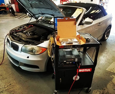 1999 BMW E36 M3 Power Steering Repair S52B32 S52 German Autohaus of Chattanooga Tennessee Service Maintenance