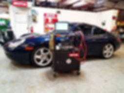 2000 Porsche 911 996 Airbad DTC Diagnostics Blue German Autohaus of Chattanooga Tennessee Eruropean Repair Performance Parts Service Maintenance