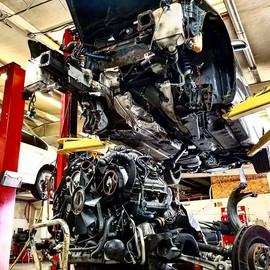 2002 Audi S4 Avant 2.7T engine resealing