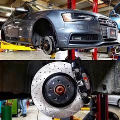 2014 Audi B8 S4 3.0T in for a full brake