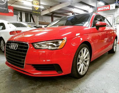 Audi A3 Quattro 2.0T in for an oil chang