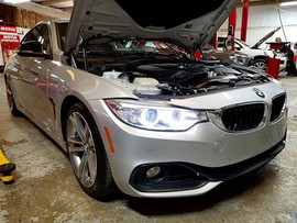 2015 BMW 435i in for a pre-purchase insp