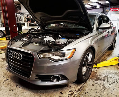 German Autohaus Chattanooga Audi A6 3.0T Supercharged Tennessee Tuning Car Repair Maintenance Service Silver