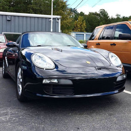 2008 Porsche 987 Boxster in for a coolin