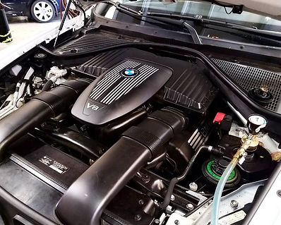 2007 BMW X5 48i cooling service Chattanooga Tennessee European Car Repair Maintenance