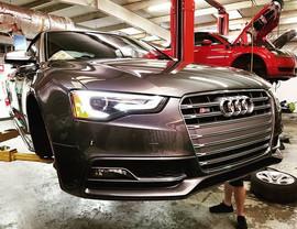 2015 Audi S5 3.0T in for a full brake se