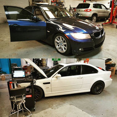 2011 328i in for blower diagnostics and