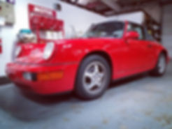 1996 Porsche 911 964 C2 Targa Red German Autohaus Chattanooga Tennessee Service Maintenance Parts Repair Performance Brakes Valve Cover