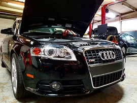 2008 B7 Audi A4 quattro S line in for an