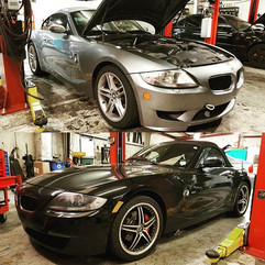 '07 Z4 M Coupe and an '08 Z4 3.0si in fo