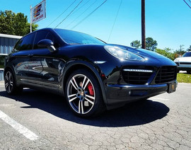 2013 Porsche Cayenne Turbo in for drivel