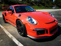 Customers 2016 Porsche GT3 RS stopping b
