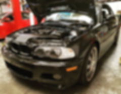 2005 BMW E46 M3 PPI German Autohaus Chattanooga Tennessee Inspection Black S54B32 S54 Service Repair Maintenance