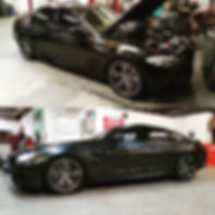 2013 BMW M5 Motul Service 8100 Xcess 5W40 2014 BMW M6 Inspection Service Chattanooga Tennessee