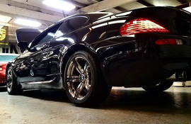 2009 BMW M6 in for SMG service and globa