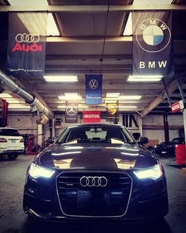 2013 Audi A6 3.0T Supercharged in for a