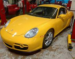 2007 Porsche 987 Cayman in Speed Yellow