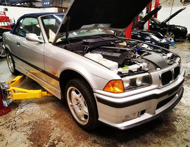 '99 BMW E36 M3 in for power steering sys